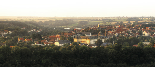 Ansicht Büren vom Kapellenberg