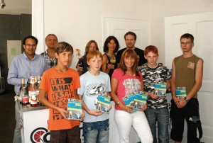 Das Team des Bürener Sommerferienspaß 2011